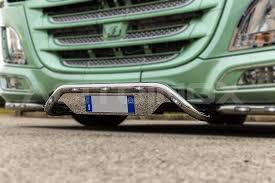 porta targa auto central bumper bar with license plate holder 60 daf xf 106