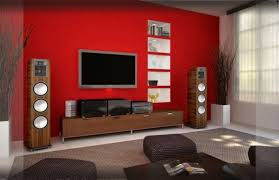 awesome living room color combinations red also wall colour