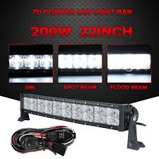 Led Work Light Bar by Best 25 Curved Led Light Bar Ideas On Pinterest 50 Led Light