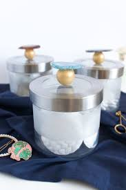 Ikea Kitchen Canisters by Ikea Hack Add Gemstones To Glass Storage Canisters Curbly