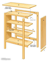 Simple Wooden Bookshelf Plans by Diy Build A Bookcase Roselawnlutheran