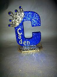amazon com personalized royal themed centerpieces for baby shower