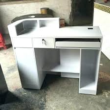Small Receptionist Desk Hair Salon Reception Desk Desks For Sale Tandemdesigns Co