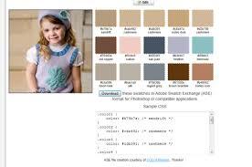 Color Combination Generator Kara U0027s Quick Knit Tip Color Palette Generator Creative Knitting