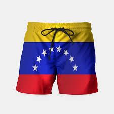 Venezual Flag Flag Of Venezuela Swim Shorts Live Heroes