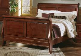 bedding dazzling sleigh bed frame queen king size wooden