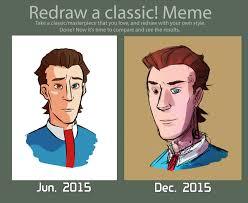 Meme Man - redraw meme rhys the company man by calmingsoul on deviantart
