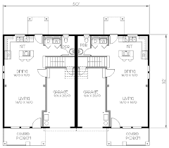 craftsman style house plan 3 beds 2 50 baths 2724 sq ft plan 423 7