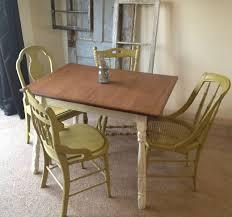 Light Oak Kitchen Chairs by Painted Oak Kitchen Table