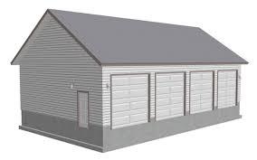 garage design useful 3 car garage plans efficient 3 car