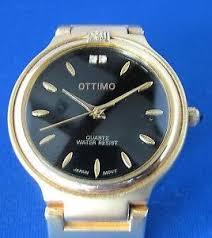 stainless steel bracelet ebay images Ottimo quartz watch with gold tone stainless steel bracelet ebay jpg