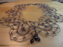 wire lace new color in wire lace necklace customer design lima