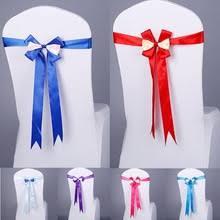chair ribbons popular chair ribbons sashes buy cheap chair ribbons sashes lots
