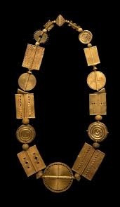 african gold necklace images Africa necklace from the akan people gold ca 1900 gpa jpg