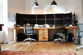 Home Office With Two Desks Two Person Desk Home Office Furniture Modern Desk Home Office For