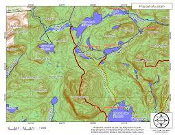 Mountain Map Pharaoh Mountain