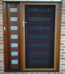 Steel Exterior Security Doors Security Doors Entry Security Door Ideas