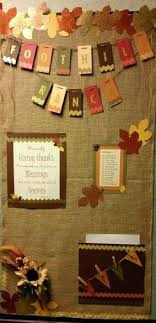 fall bulletin board designed by ridd front office bulletin