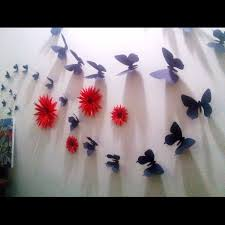 for decoration curvy wings with down line butterfly u0027s for home wall decoration