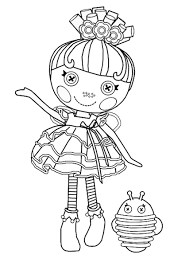 lalaloopsy coloring page lalaloopsy coloring pages for girls to