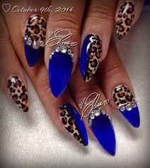 best 25 cheetah nails ideas on pinterest cheetah nail designs