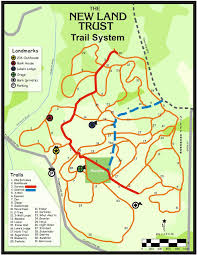 New York Appalachian Trail Map by New Land Trust Trail Map Oh The Places We Go Pinterest Maps