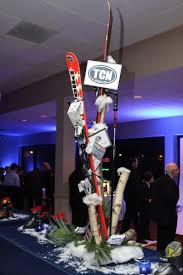 New York Themed Centerpieces by Ski Theme Centerpieces Bar Mitzvah Party Jpg 400 600 Auction