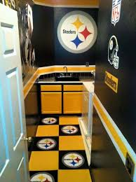 cave bathroom accessories bathroom decor for the wo cave pittsburgh steelers at