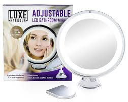 amazon com luxe harbour lighted makeup mirror 7x magnification