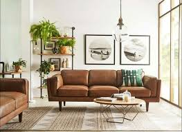 Best  Leather Couch Decorating Ideas On Pinterest Leather - Living room design with brown leather sofa