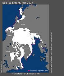 Arctic Ocean Map Another Record But A Somewhat Cooler Arctic Ocean Arctic Sea