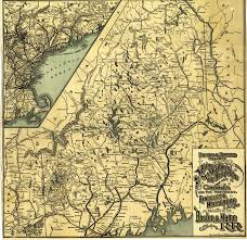 Map Maine Maps Old Tales Of The Maine Woods