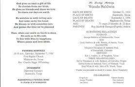Funeral Program Ideas 100 Memorial Program Ideas Thank You Card Sample Thank You