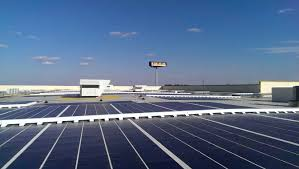ikea ma ikea plugs in expanded solar panel array at boston area store in