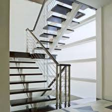 Modern Banister Ideas Grand Black Iron Custom Banister Rail As Modern Staircase With