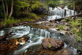 Michigan waterfalls images Upper michigan waterfalls page 2 jpg