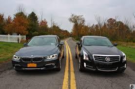 compare cadillac ats and cts test drive cadillac ats 2 0t vs bmw 328i