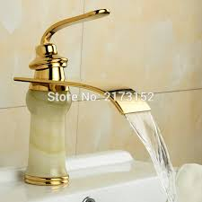 Waterfall Style Faucet Aliexpress Com Buy Free Shipping Fancy Style Gold Plated