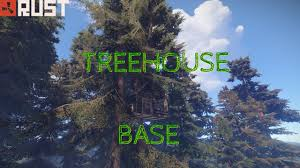 out dated rust tree house base