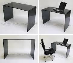 Small Black Desks Small Glass Desk Freedom To