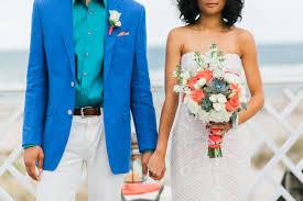royal blue wedding coral teal and royal blue bohemian beachside wedding fab you bliss