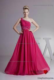 pink one shoulder bridesmaid dresses 2016 2017 b2b fashion