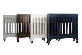 Babyletto Grayson Mini Crib White Babyletto Grayson Mini Crib With Mattress Pad