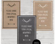 funeral sign in book memory book tent card sign funeral celebration of by angelanddove
