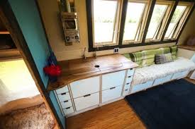interior mobile home small mobile home created with salvaged wood