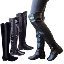 womens knee high boots canada s boots wide calf womens elasticated wide leg calf