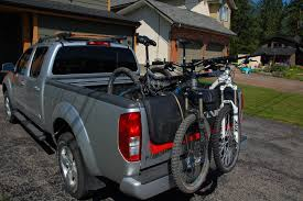 homemade pickup truck bikes homemade tailgate bike rack fox racing tailgate yakima