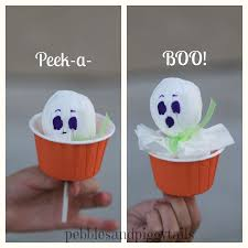 peek a boo lollipop ghost halloween ideas holidays and craft