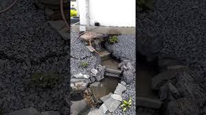 Steingarten Mit Granit Bachlauf Funktioniert Youtube