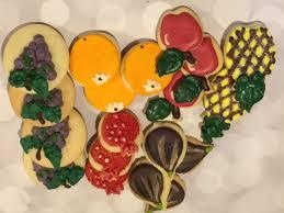christmas cookies u2013 paint your own cookies u2013 santa christmas tree
